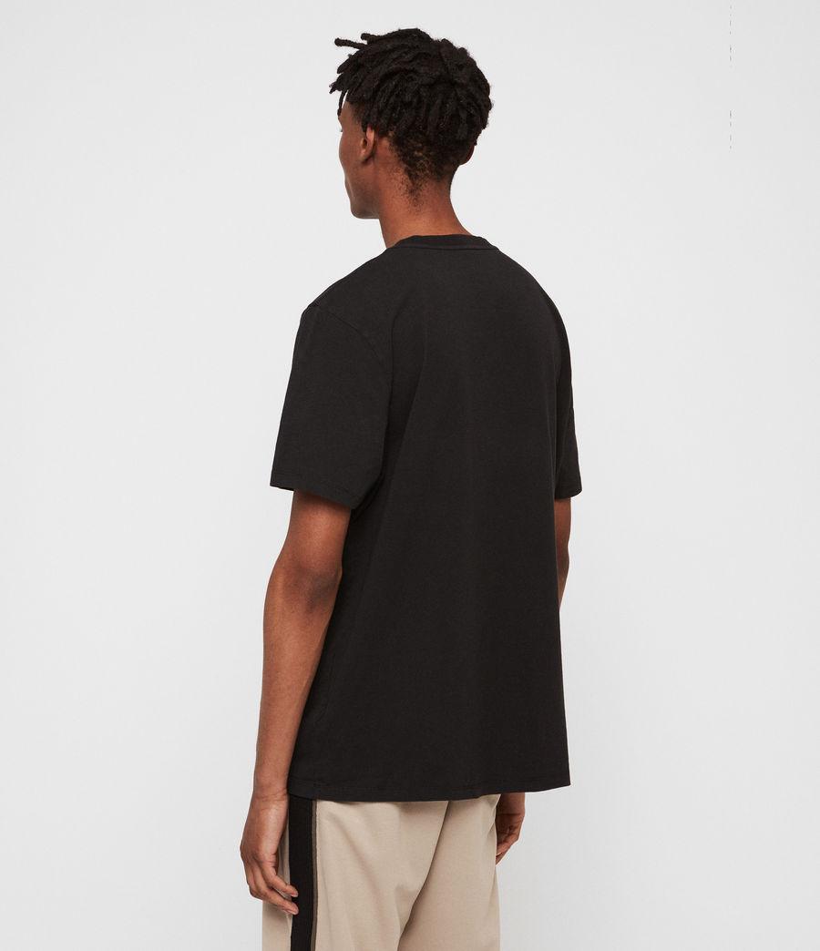 Mens Together Crew T-Shirt (jet_black_optic) - Image 4