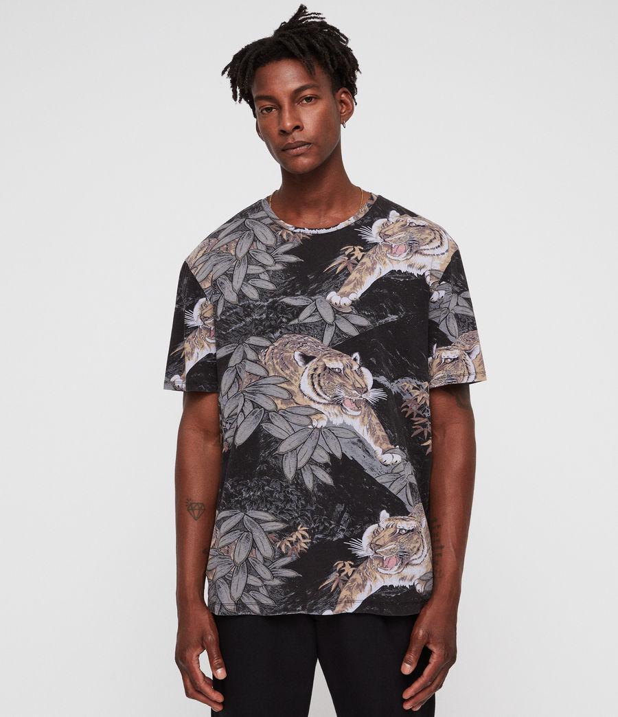 Hombres Camiseta Chokai (vintage_black) - Image 1
