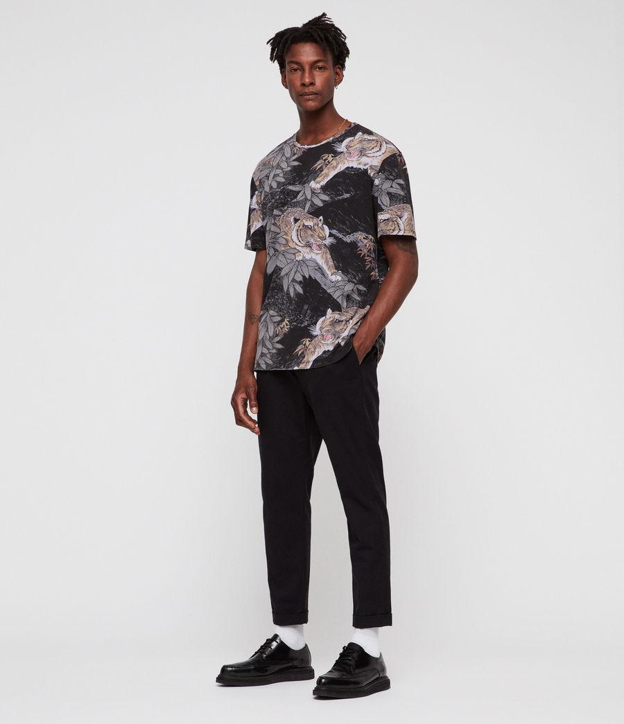 Hombres Camiseta Chokai (vintage_black) - Image 3