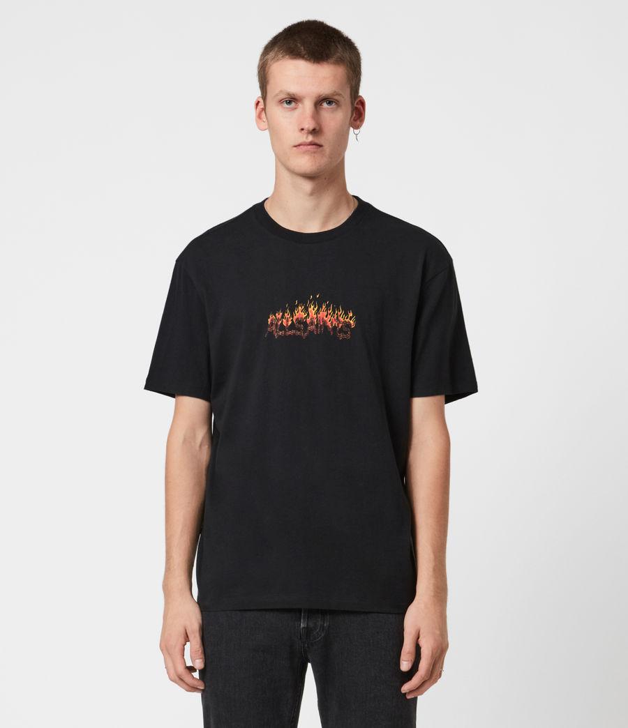 Mens Molten Crew T-Shirt (jet_black) - Image 1