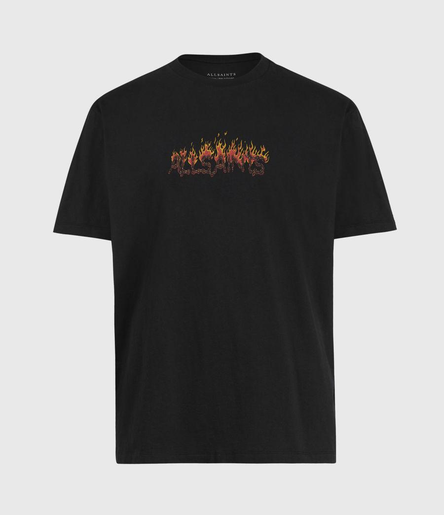 Mens Molten Crew T-Shirt (jet_black) - Image 2