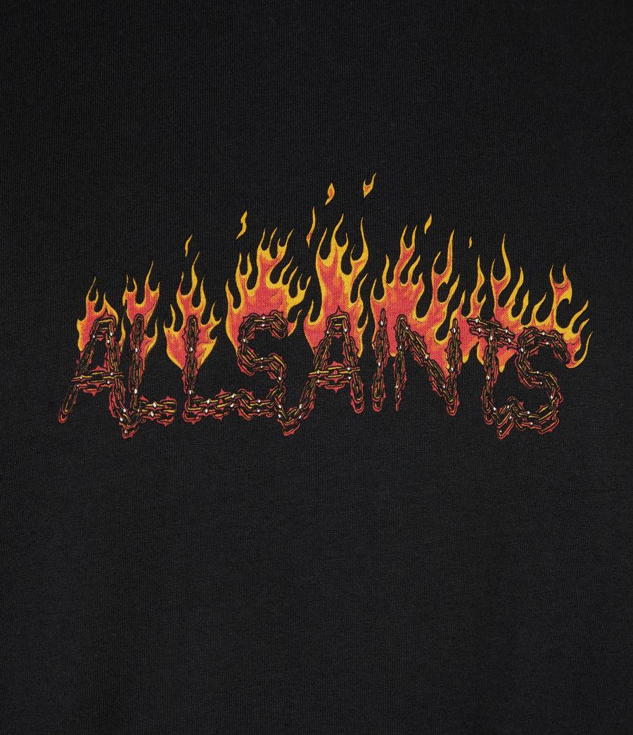 Mens Molten Crew T-Shirt (jet_black) - Image 6