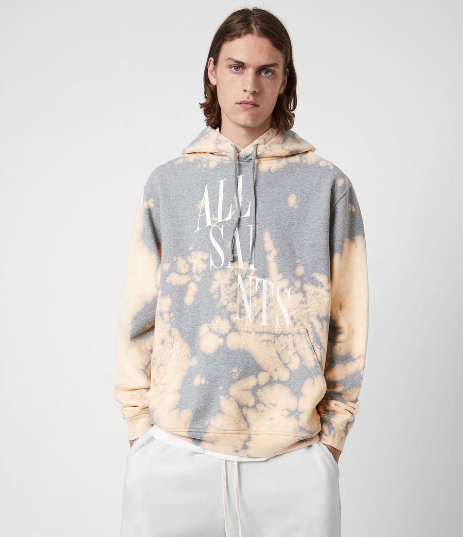 Men's Merger Pullover Hoodie (grey_marl) - Image 1