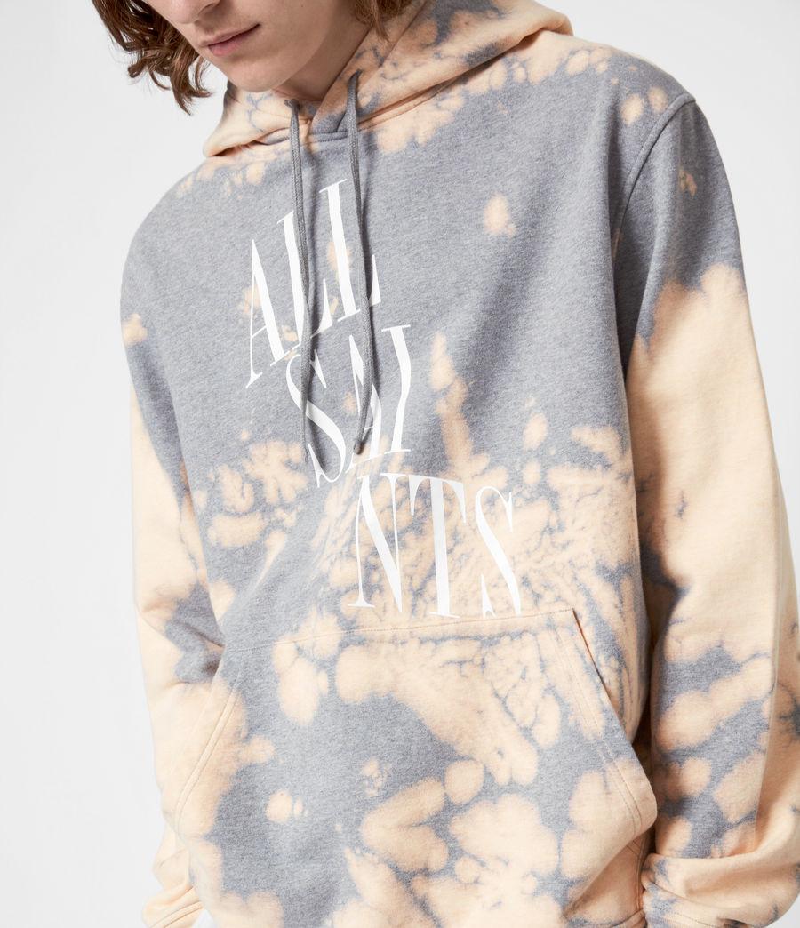 Men's Merger Pullover Hoodie (grey_marl) - Image 4