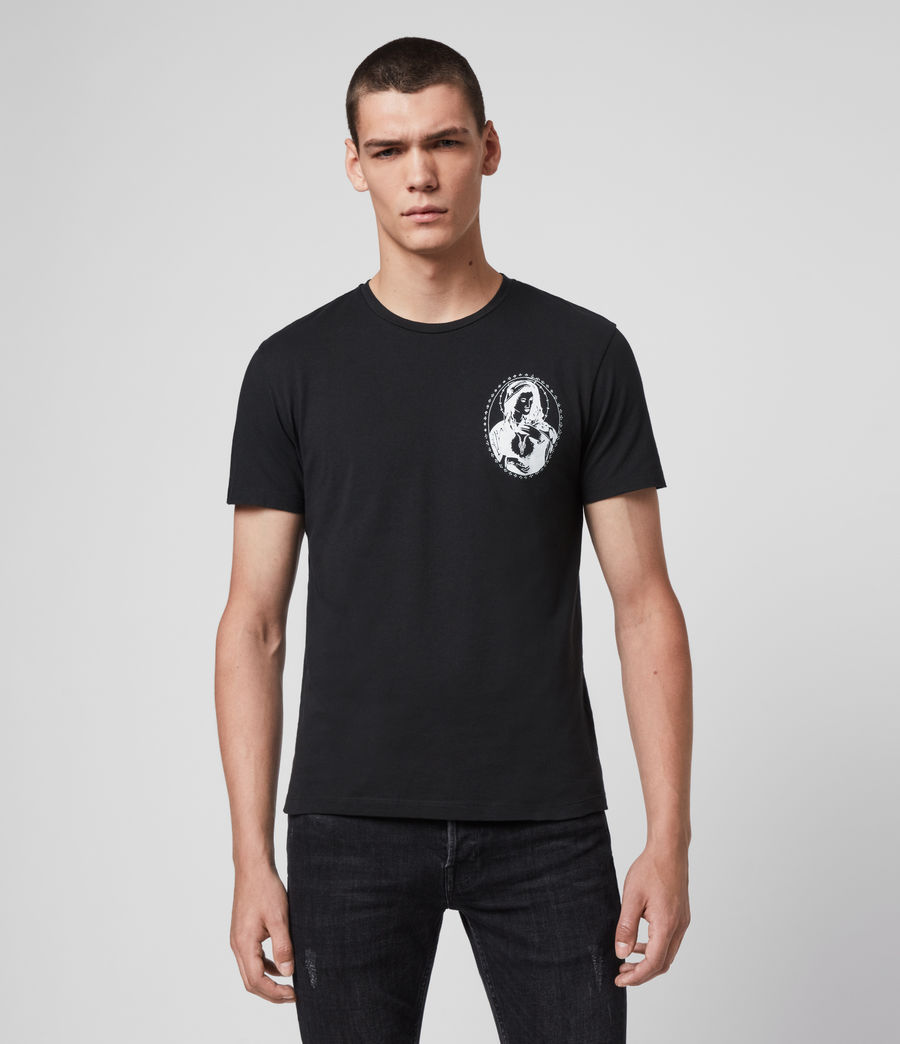 Mens Mother Crew T-Shirt (jet_black) - Image 1