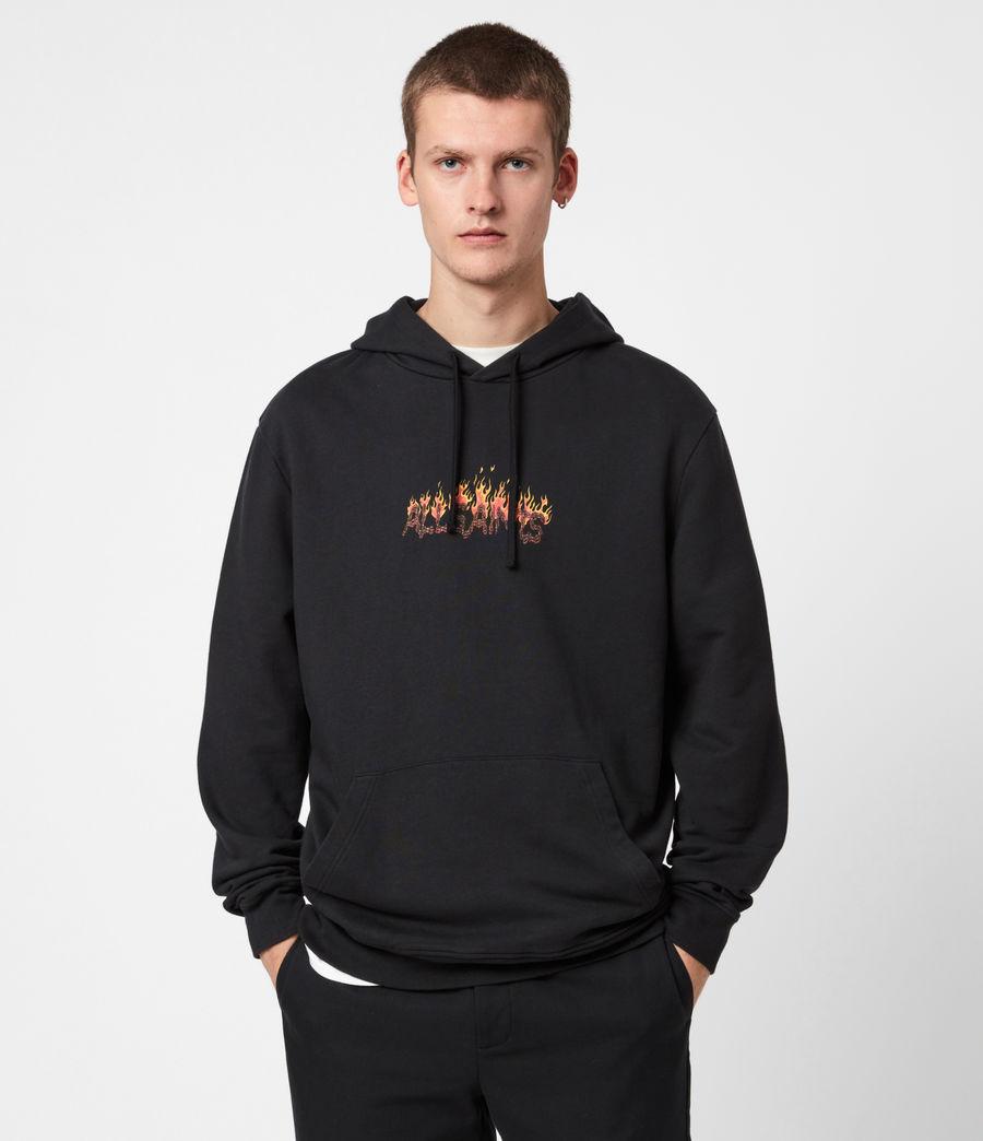 Men's Molten Hoodie (jet_black) - Image 1