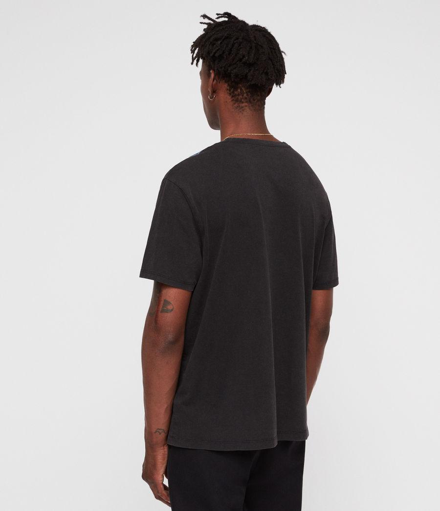 Mens Shinano Crew T-Shirt (vintage_black) - Image 4