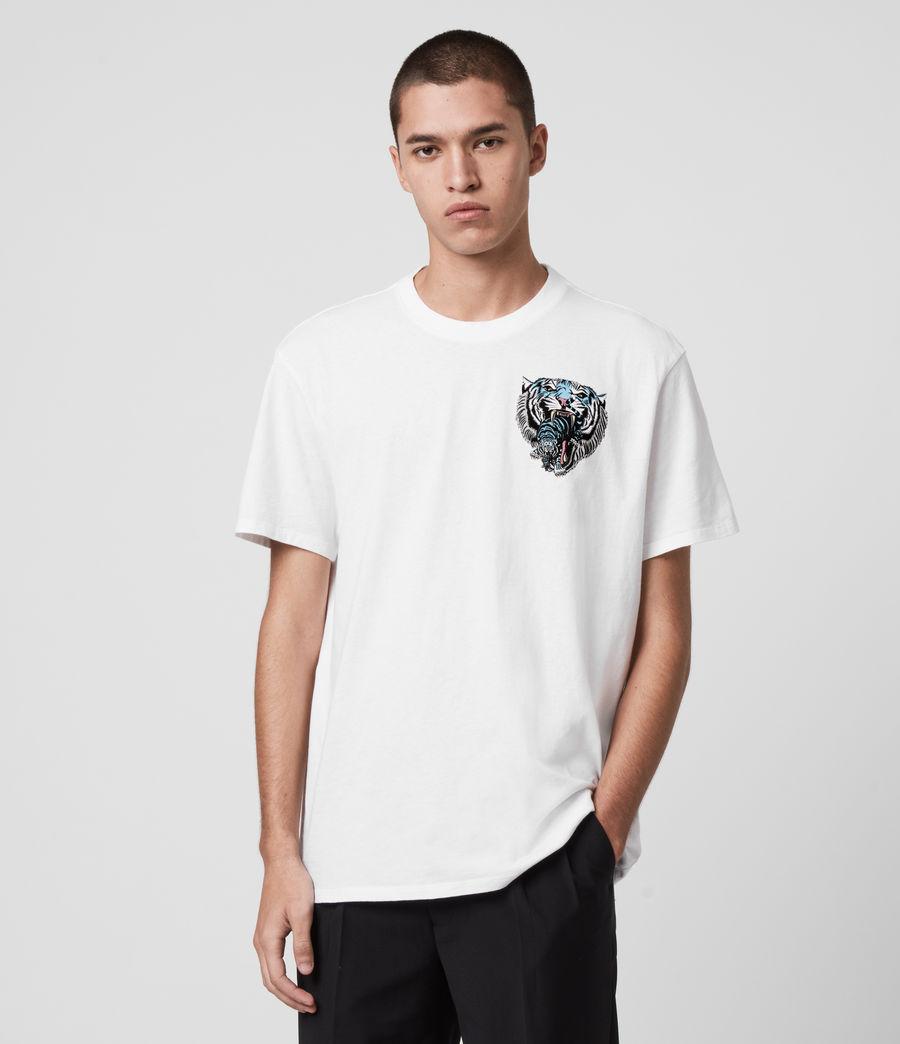 Men's Twin Tiger Short Sleeve Crew T-Shirt (jet_black) - Image 1