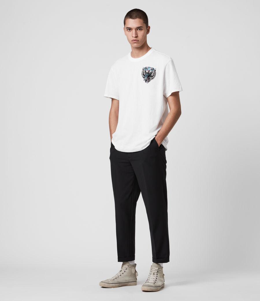 Men's Twin Tiger Short Sleeve Crew T-Shirt (jet_black) - Image 3