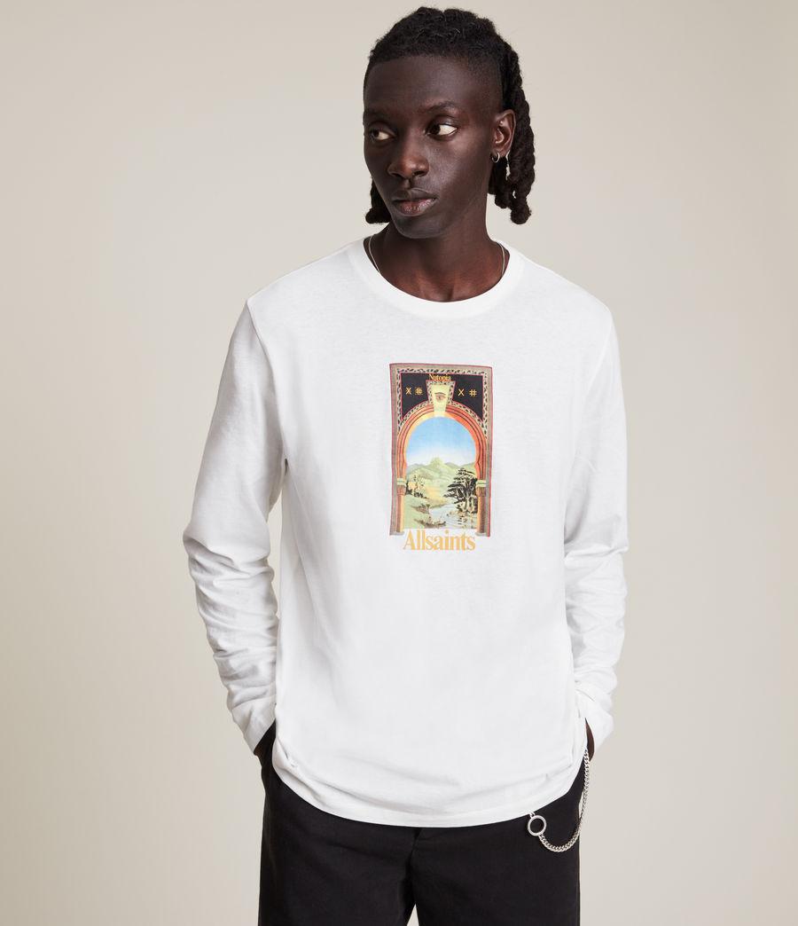 Men's Kabbal Crew T-Shirt (chalk_white) - Image 1