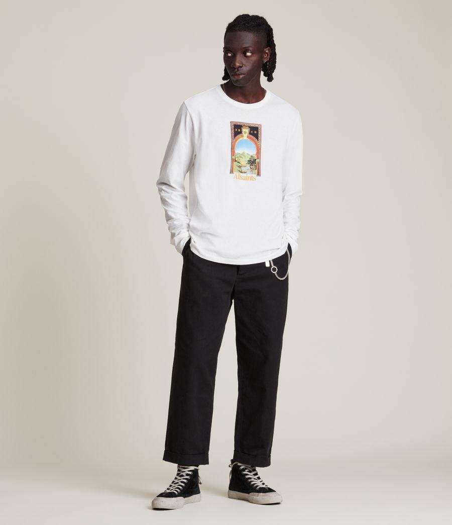 Men's Kabbal Crew T-Shirt (chalk_white) - Image 4