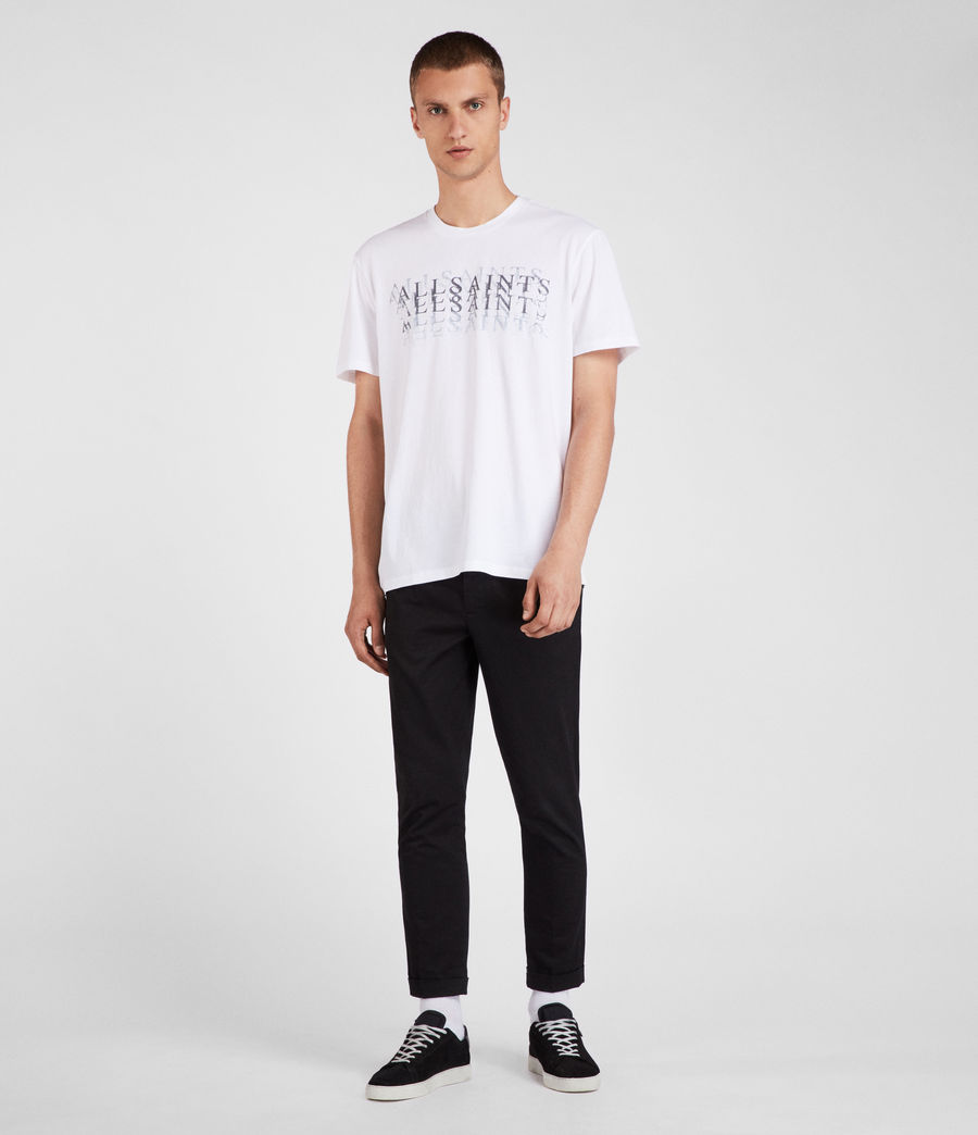 Uomo T-shirt Imprint (optic_white) - Image 1