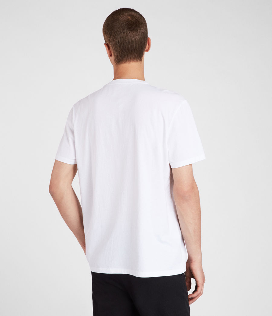 Uomo T-shirt Imprint (optic_white) - Image 3
