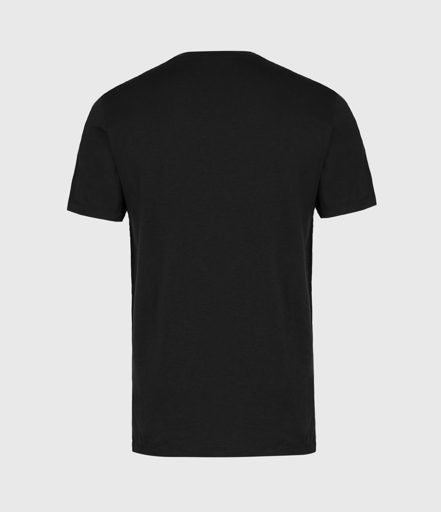 Mens Infernal Crew T-Shirt (jet_black) - Image 3