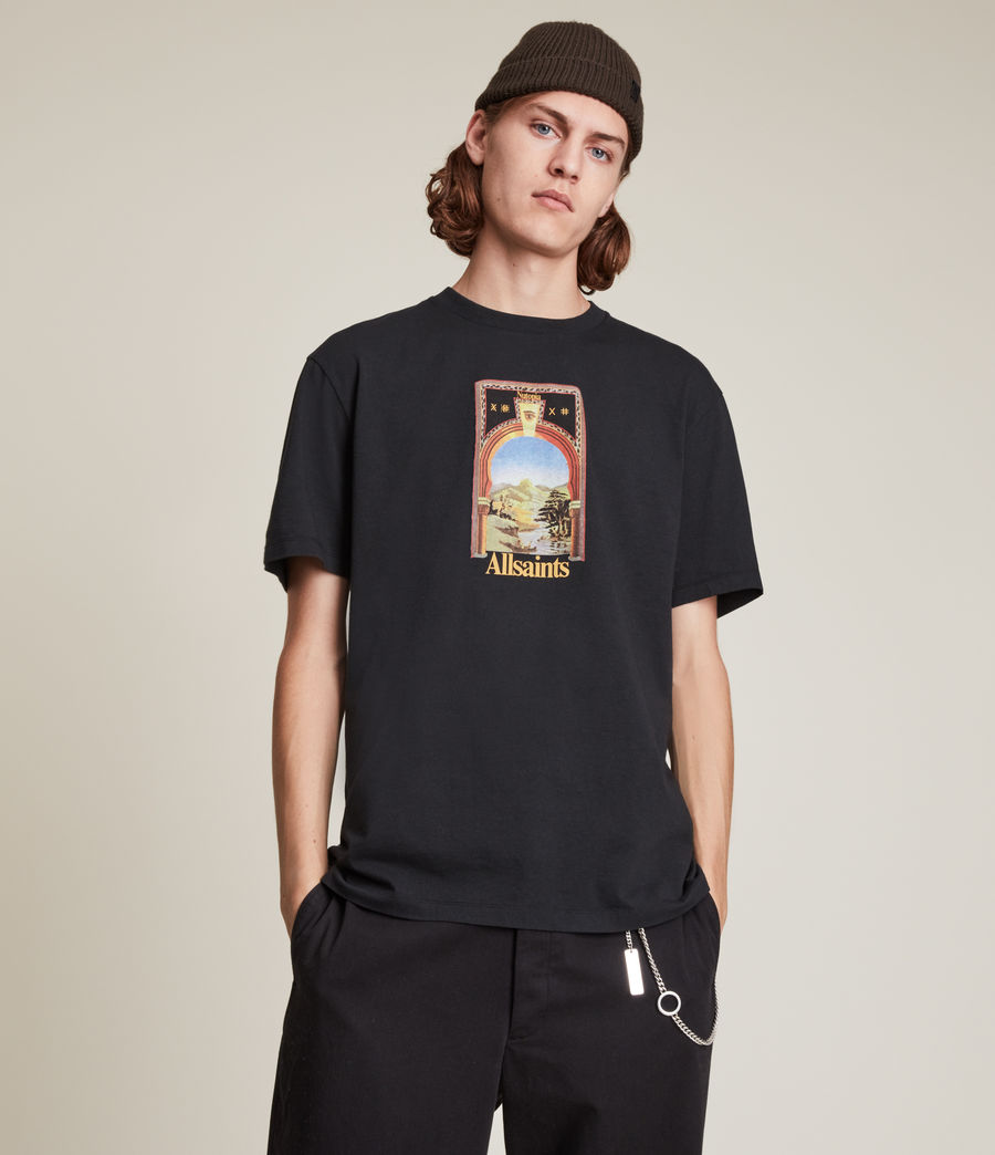 Men's Kabbal Crew T-Shirt (jet_black) - Image 1