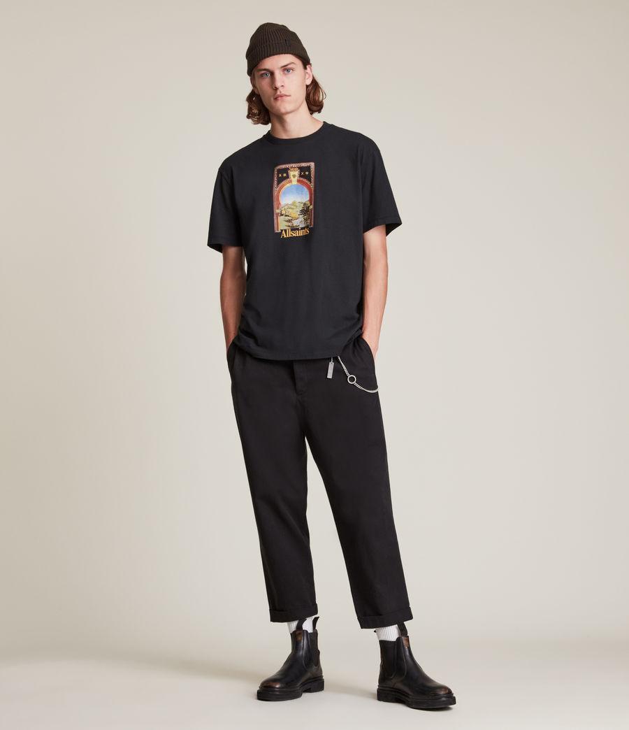 Men's Kabbal Crew T-Shirt (jet_black) - Image 3