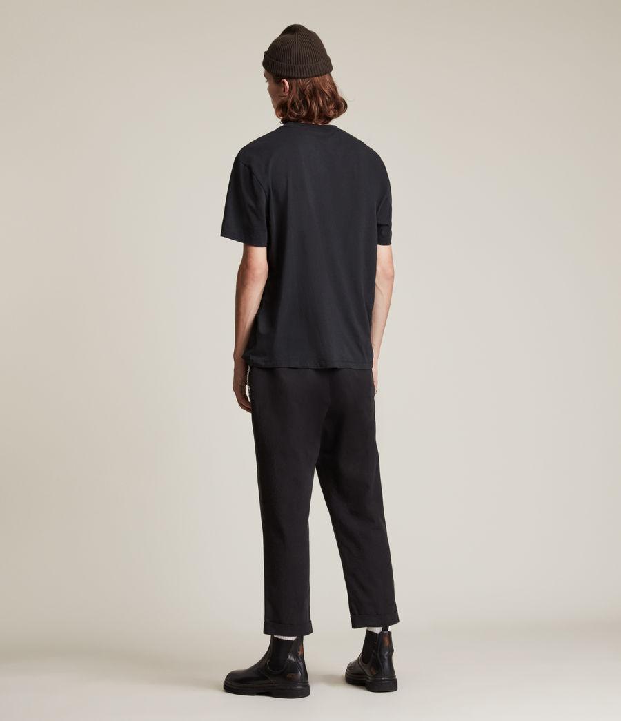 Men's Kabbal Crew T-Shirt (jet_black) - Image 5