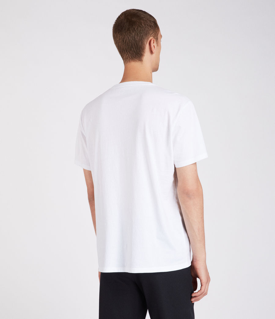 Herren Amplify T-Shirt (optic_white) - Image 4