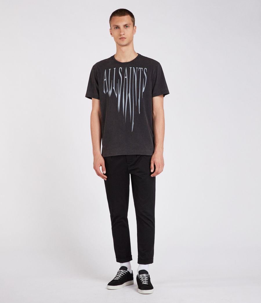 Hommes T-Shirt Amplify (vintage_black) - Image 3