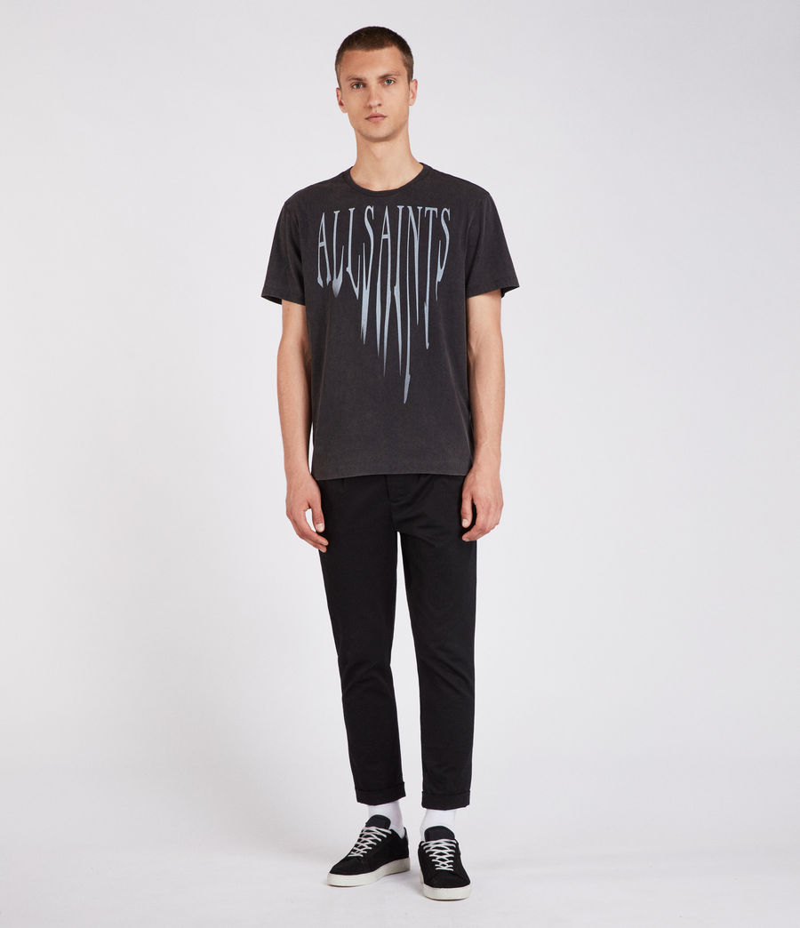 Men's Amplify Crew T-Shirt (vintage_black) - Image 3