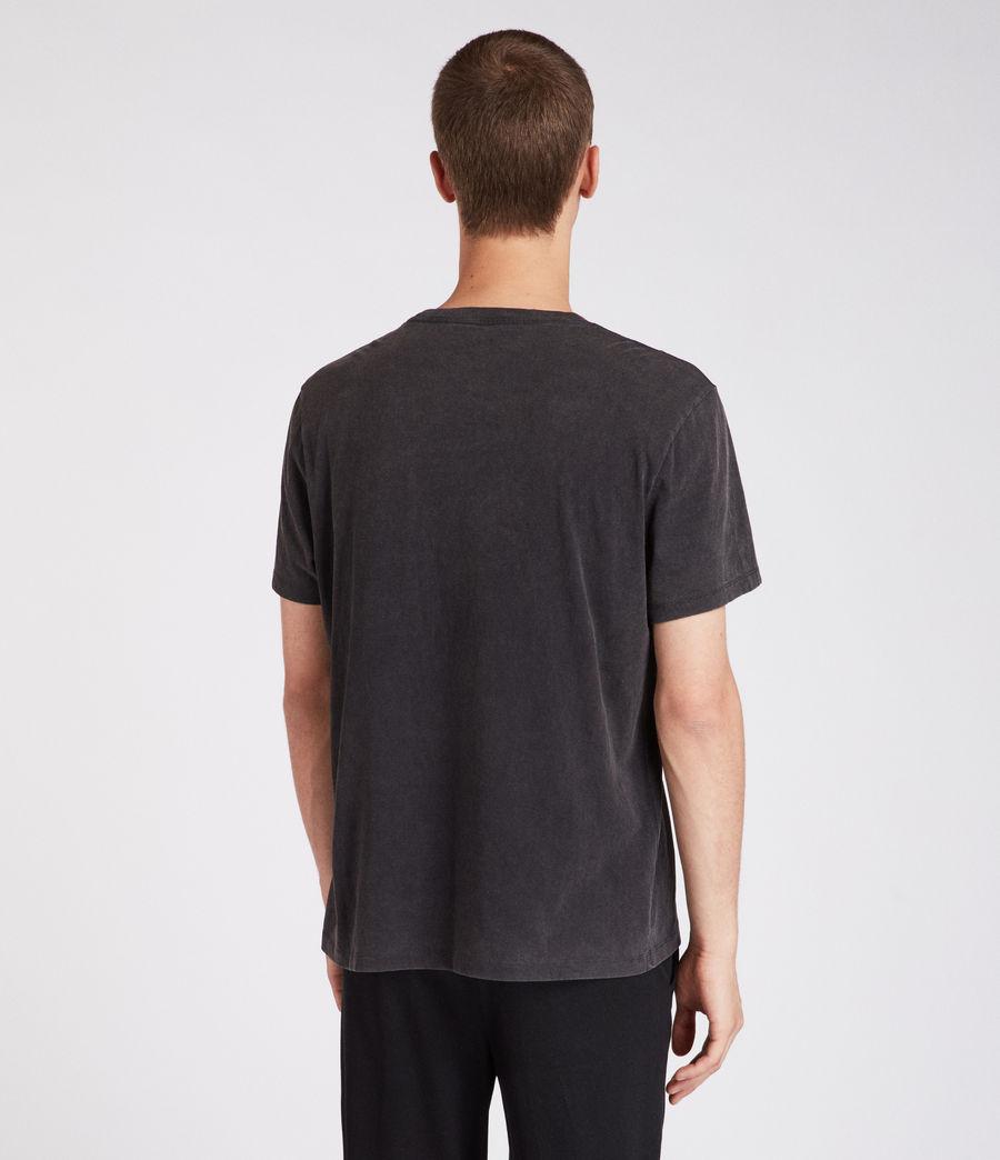Men's Amplify Crew T-Shirt (vintage_black) - Image 4