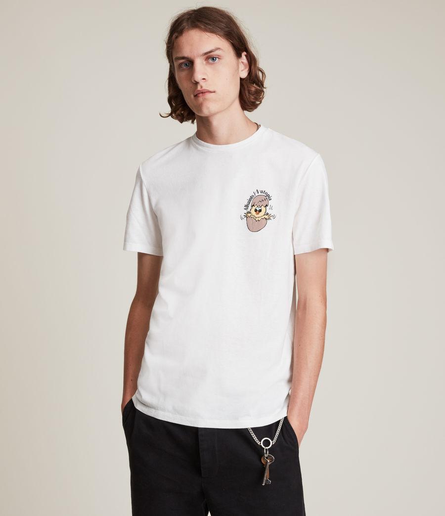 Men's Hatch Brace Crew T-Shirt (chalk) - Image 1