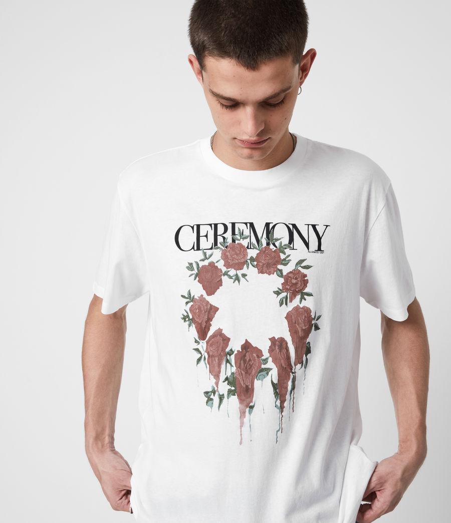 Men's Ceremony Crew T-Shirt (optic_white) - Image 1