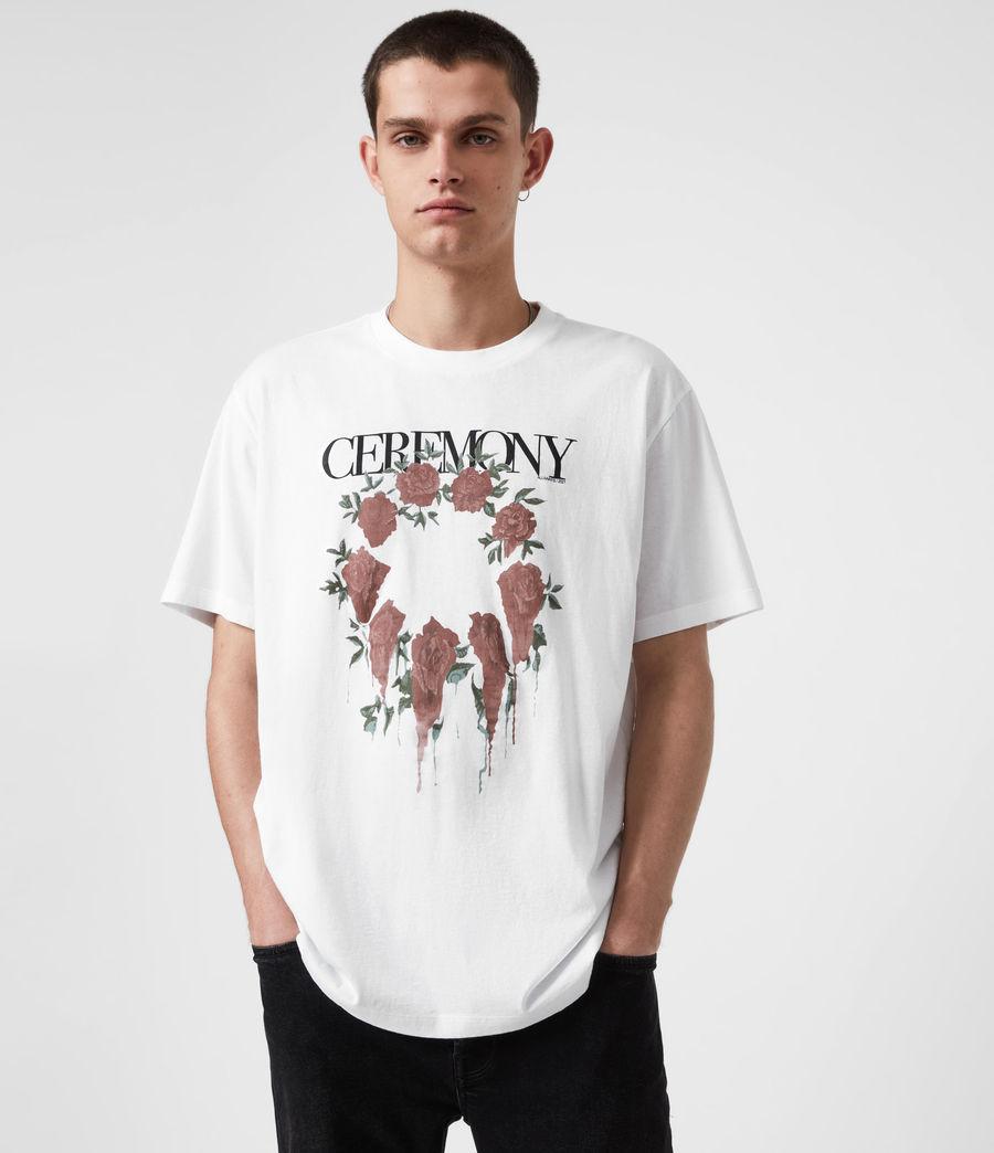 Men's Ceremony Crew T-Shirt (optic_white) - Image 6