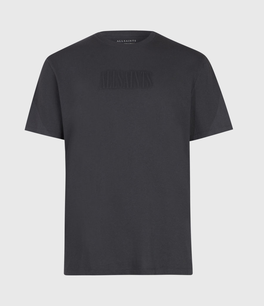 Men's Highway Crew T-Shirt (washed_blk_jet_blk) - Image 2