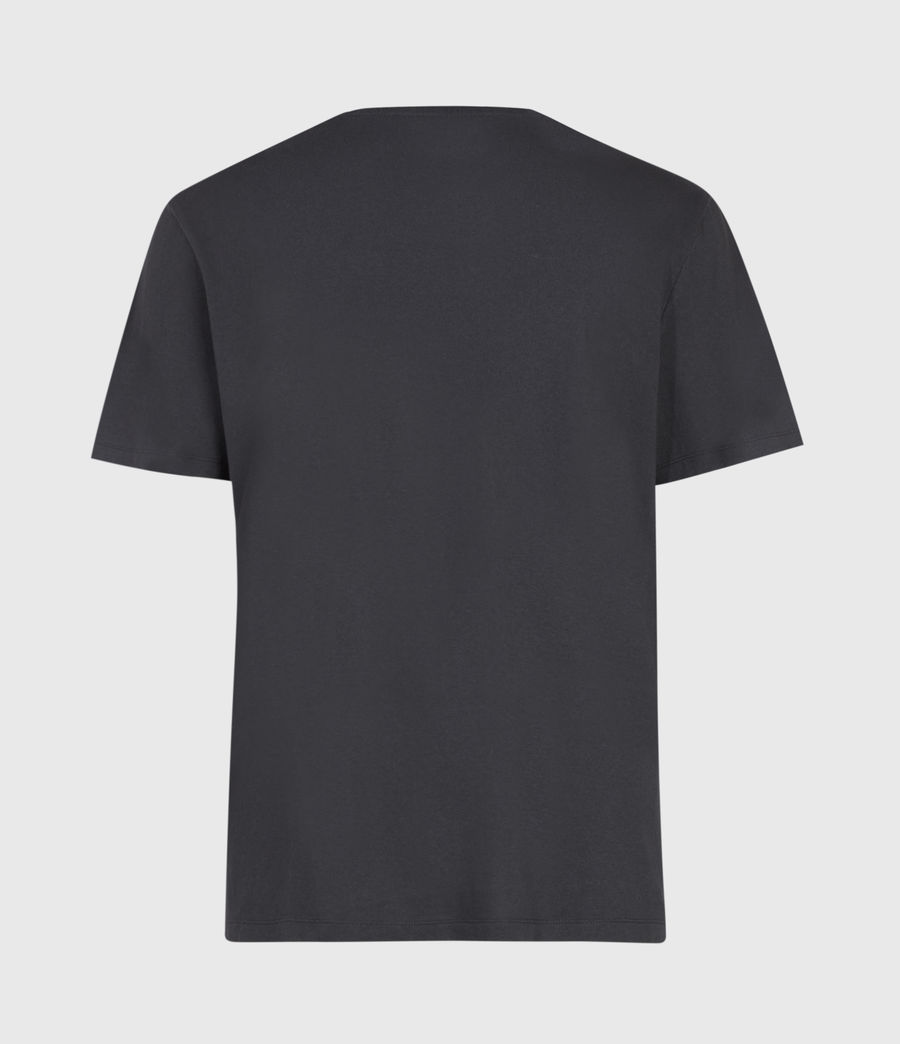 Men's Highway Crew T-Shirt (washed_blk_jet_blk) - Image 3