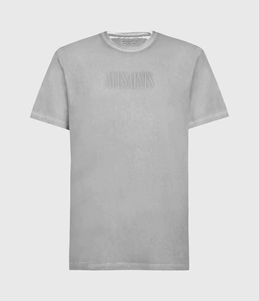 Hombres Highway Crew T-Shirt (chalk_clay_grey) - Image 2