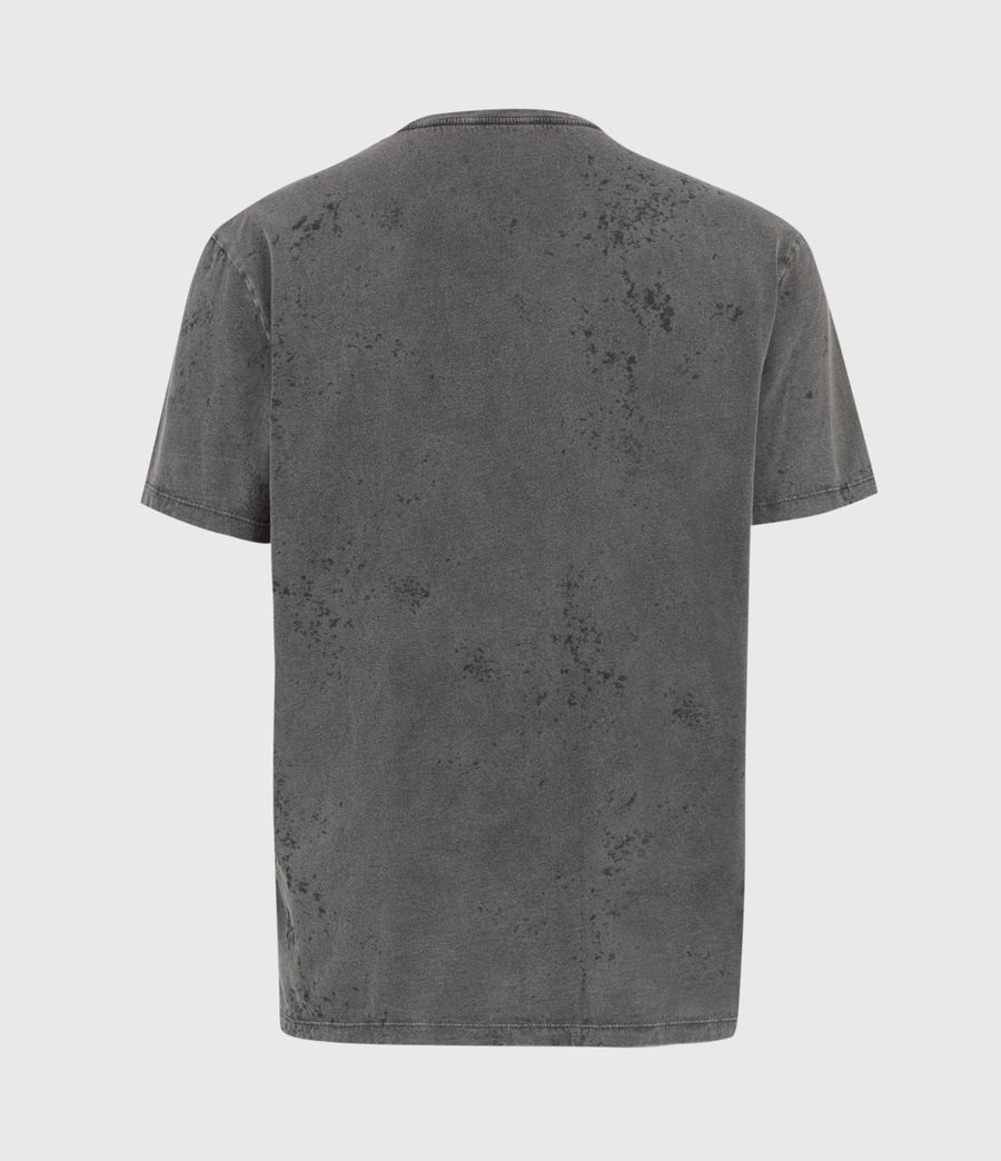 Herren Acidic Cadfer Crew T-Shirt (washed_black) - Image 2