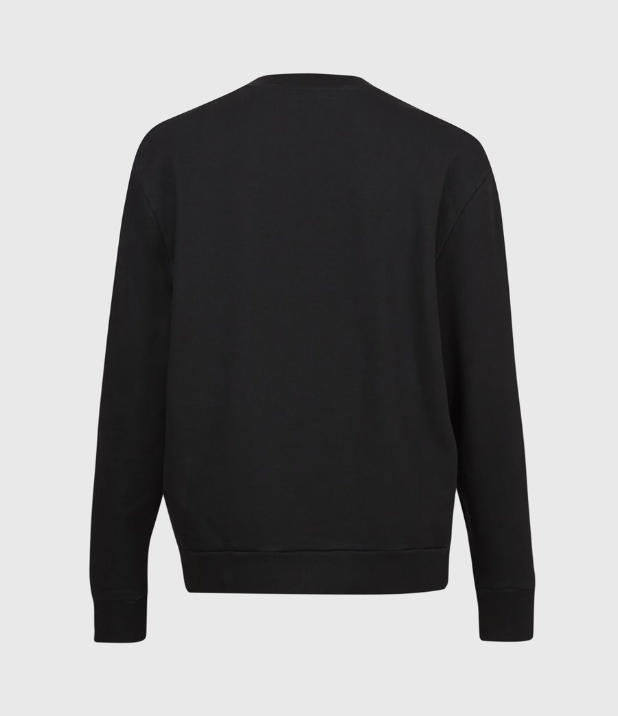 Men's Club Sweatshirt (jet_black) - Image 3