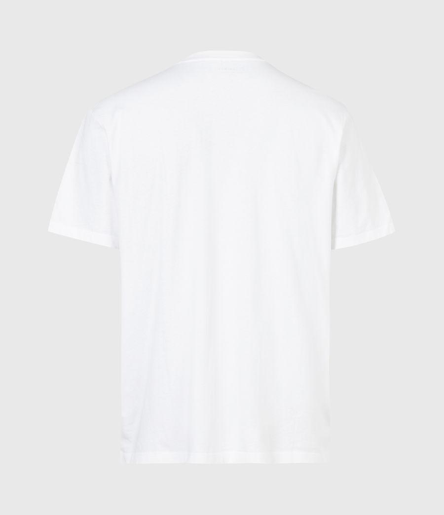 Men's Island Life Crew T-Shirt (optic_white) - Image 3