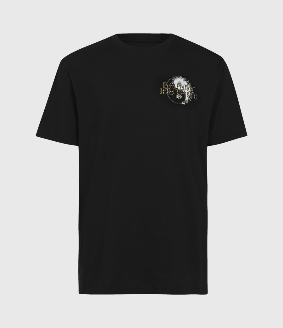 Uomo Shanti Crew T-Shirt (jet_black) - Image 1