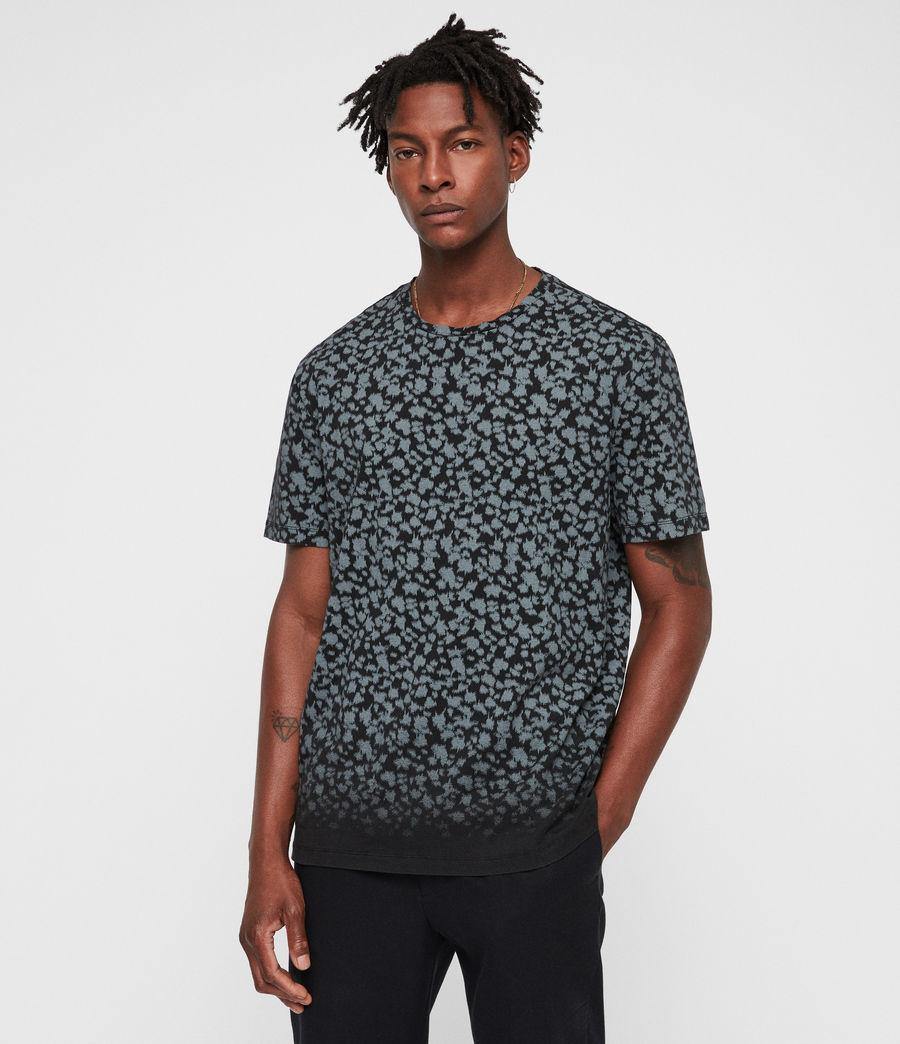 Hombre Camiseta Sigfried Camo (vintage_black) - Image 1