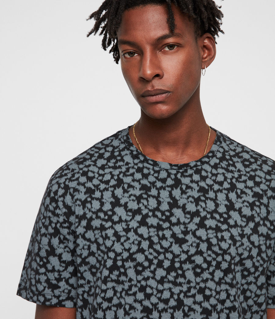 Hombre Camiseta Sigfried Camo (vintage_black) - Image 2