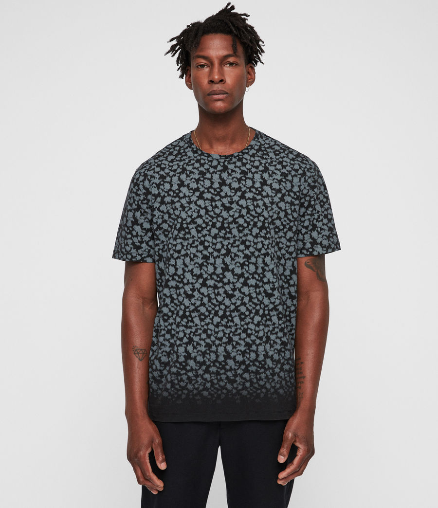 Hombre Camiseta Sigfried Camo (vintage_black) - Image 4