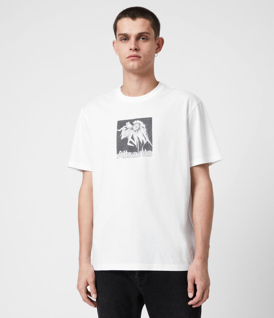 Men's Wither Crew T-Shirt (optic_white) - Image 1