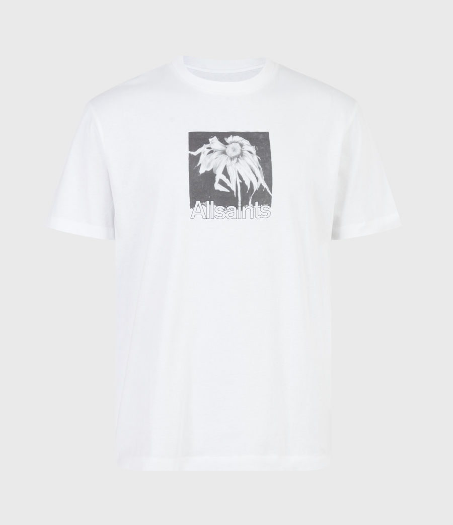 Men's Wither Crew T-Shirt (optic_white) - Image 2