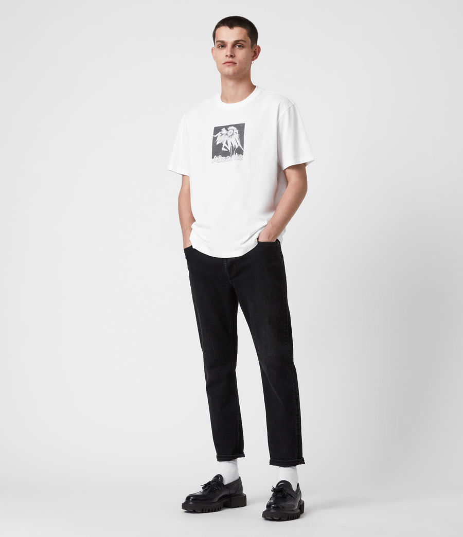 Men's Wither Crew T-Shirt (optic_white) - Image 4