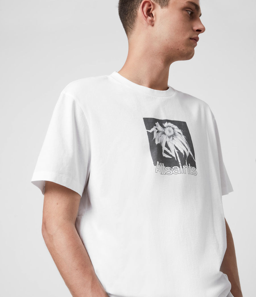 Men's Wither Crew T-Shirt (optic_white) - Image 6