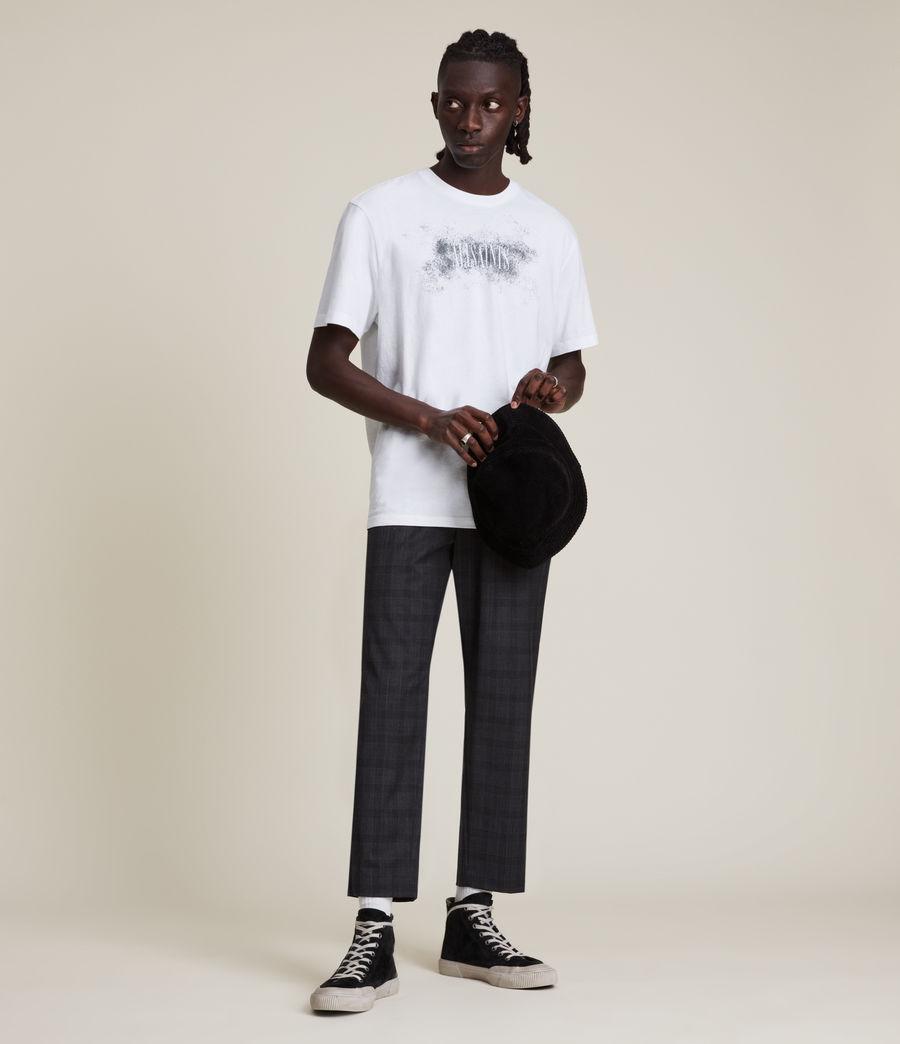 Men's Shadow Stamp Crew T-Shirt (optic_white) - Image 1