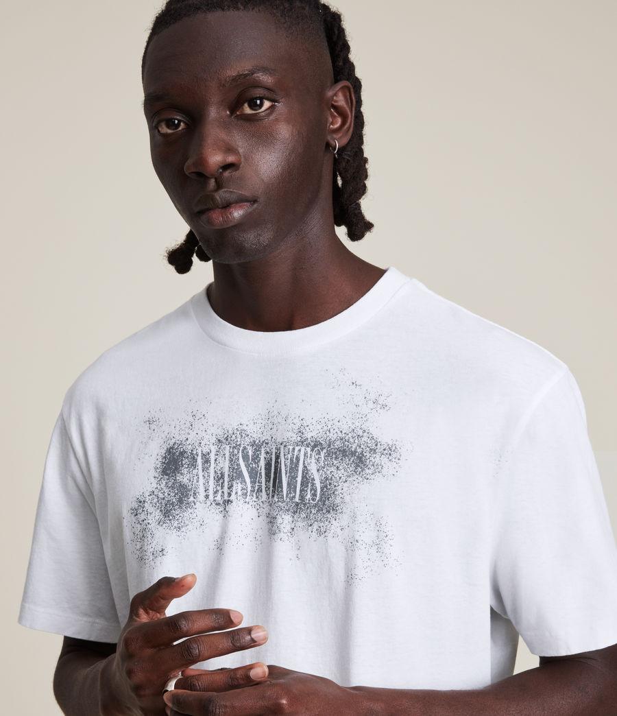 Men's Shadow Stamp Crew T-Shirt (optic_white) - Image 2