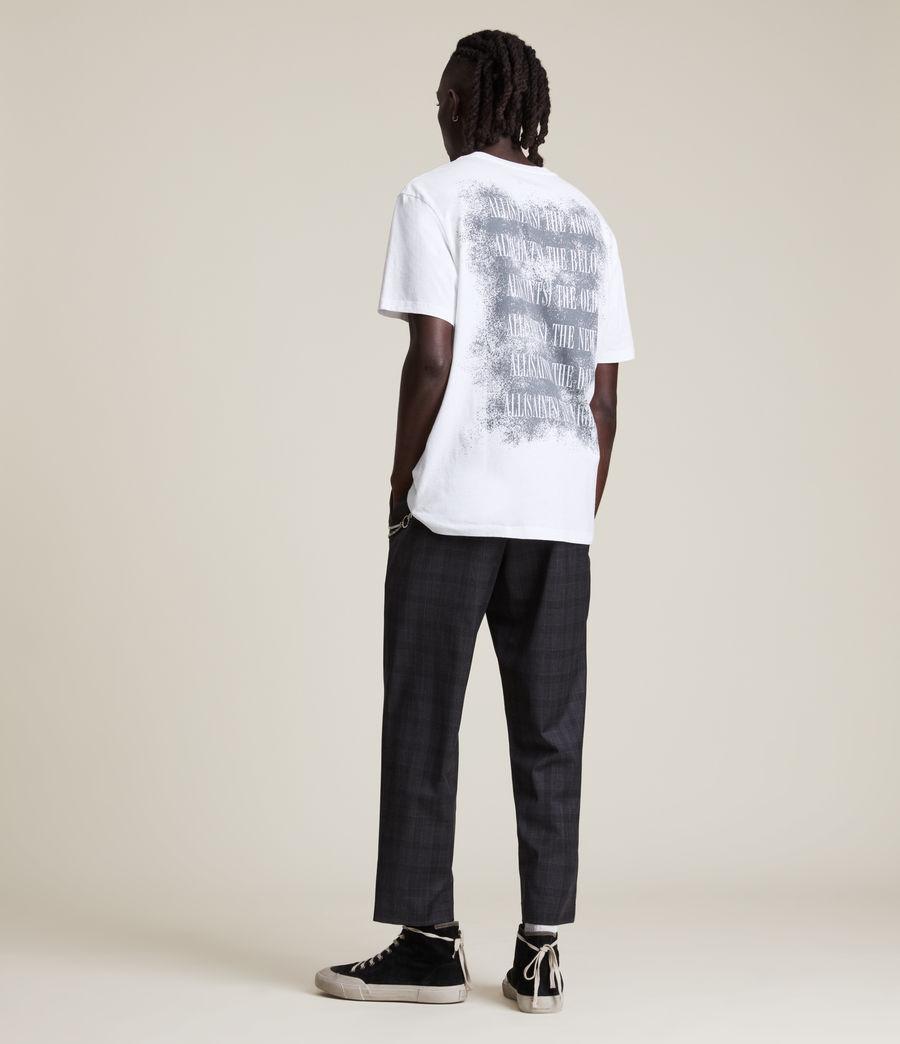 Men's Shadow Stamp Crew T-Shirt (optic_white) - Image 6