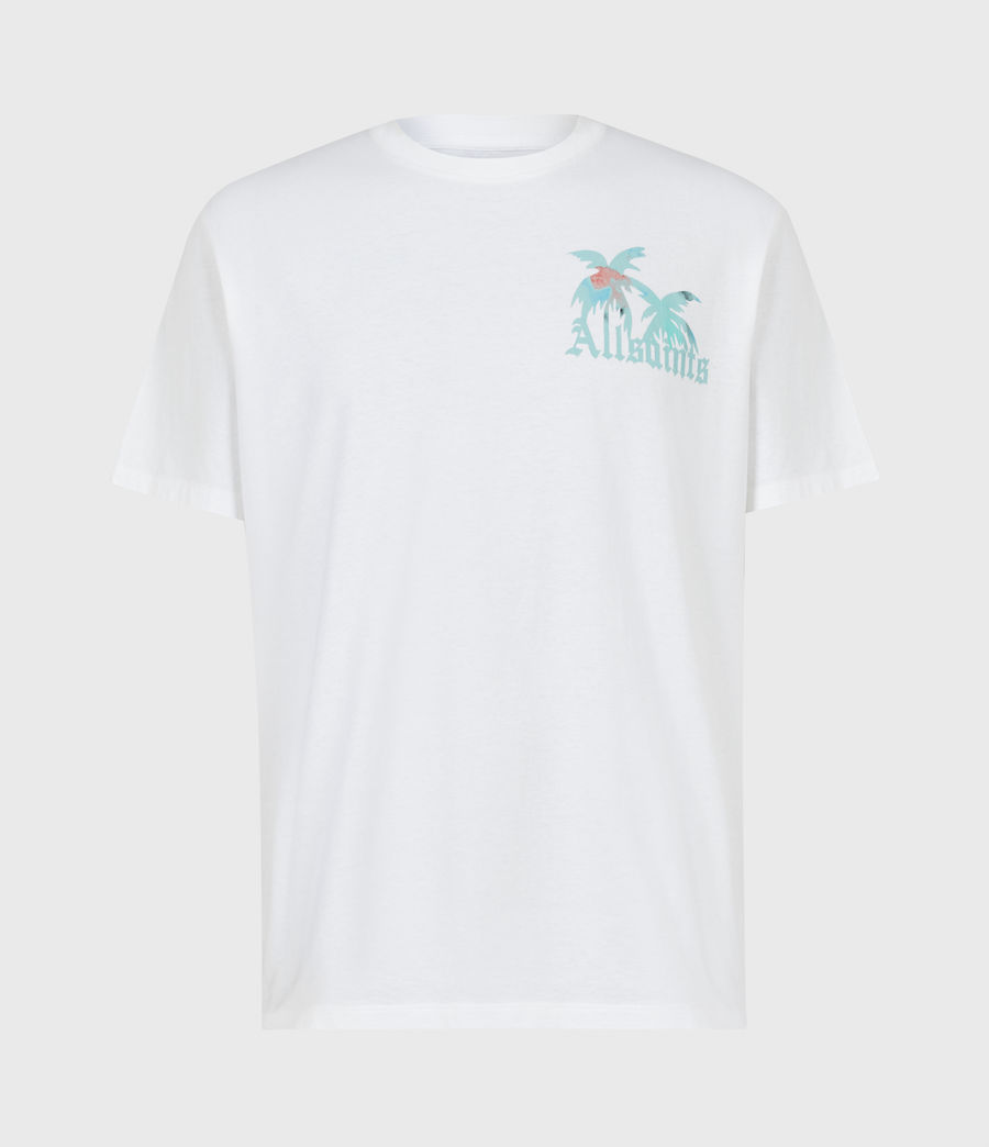 Men's Malibeau Crew T-Shirt (optic_white) - Image 2
