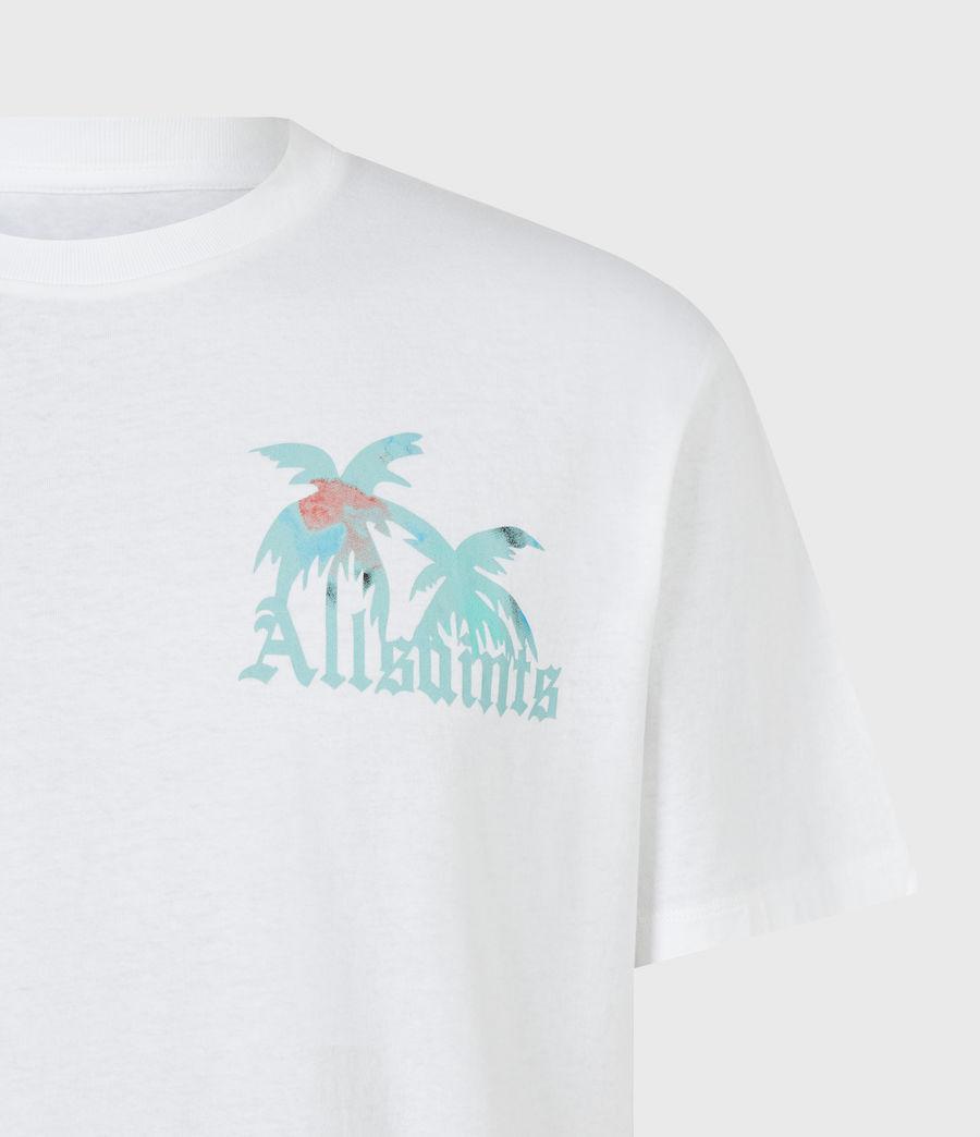 Men's Malibeau Crew T-Shirt (optic_white) - Image 5