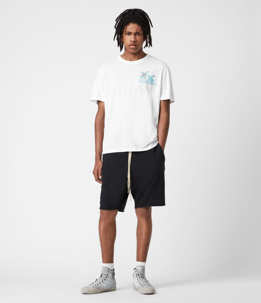 Men's Malibeau Crew T-Shirt (optic_white) - Image 6