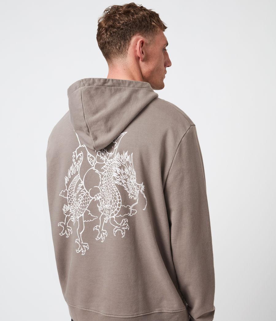 Mens Joyride Pullover Hoodie (flint_grey) - Image 4