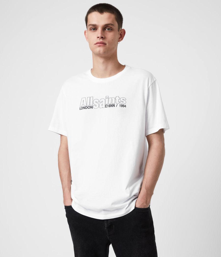 Mens Hollowpoint Crew T-Shirt (optic_white) - Image 1